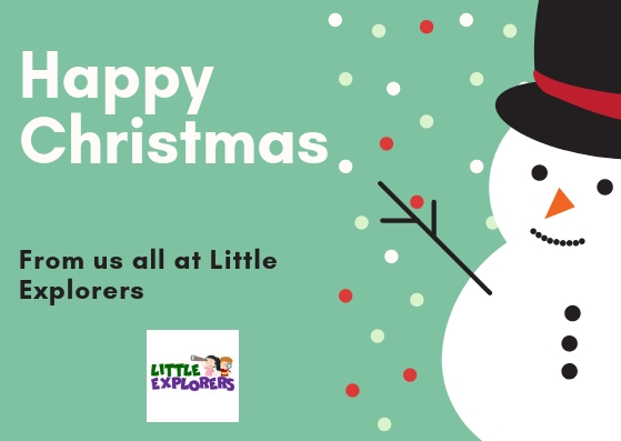 Happy Christmas from Little Explorers
