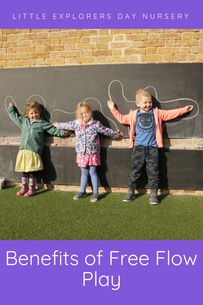 Free flow play - Day nursery Bury St Edmunds Suffolk