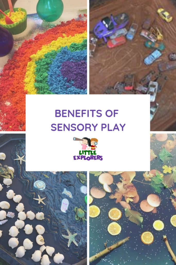 Benefits of Sensory Play at Little Explorers Day Nursery