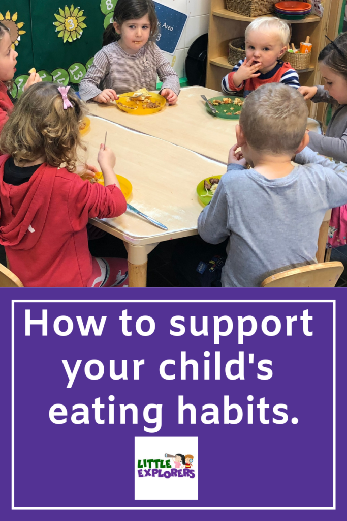 Supporting your child's eating habits